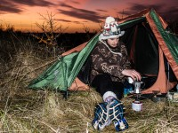 Wildcamping in the dunes, an exciting end of the year