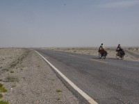 Through the Taklamakan desert