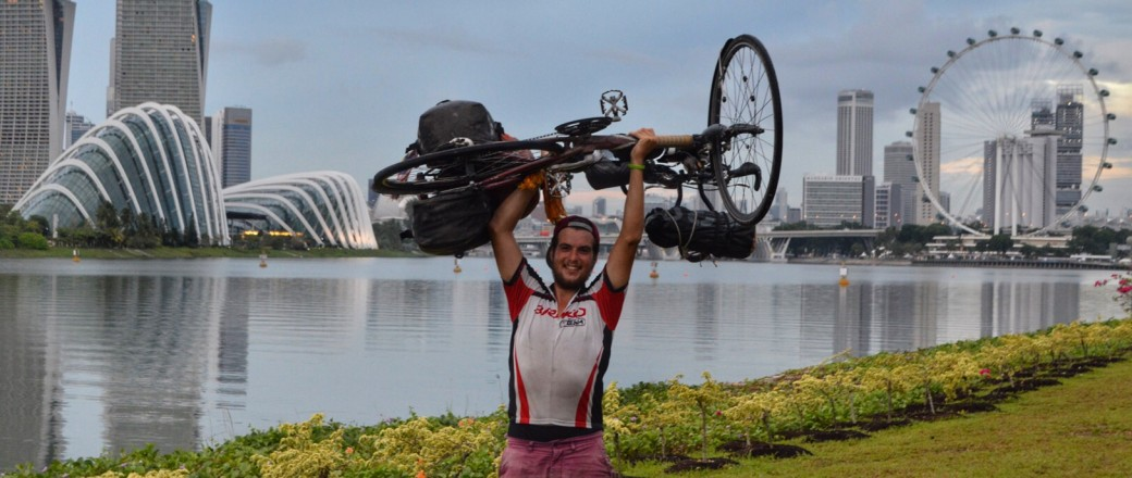 I did it! I cycled from Rotterdam to Singapore!