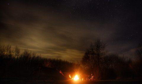 A campfire night [VIDEO]