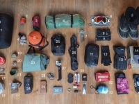 Kit list for a winter cycle-tour into the Russian Arctic Circle