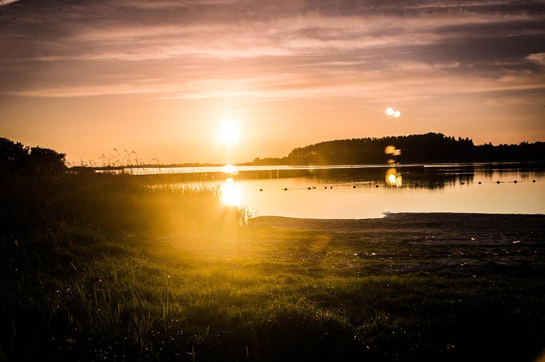 Sun set Lauwersmeer