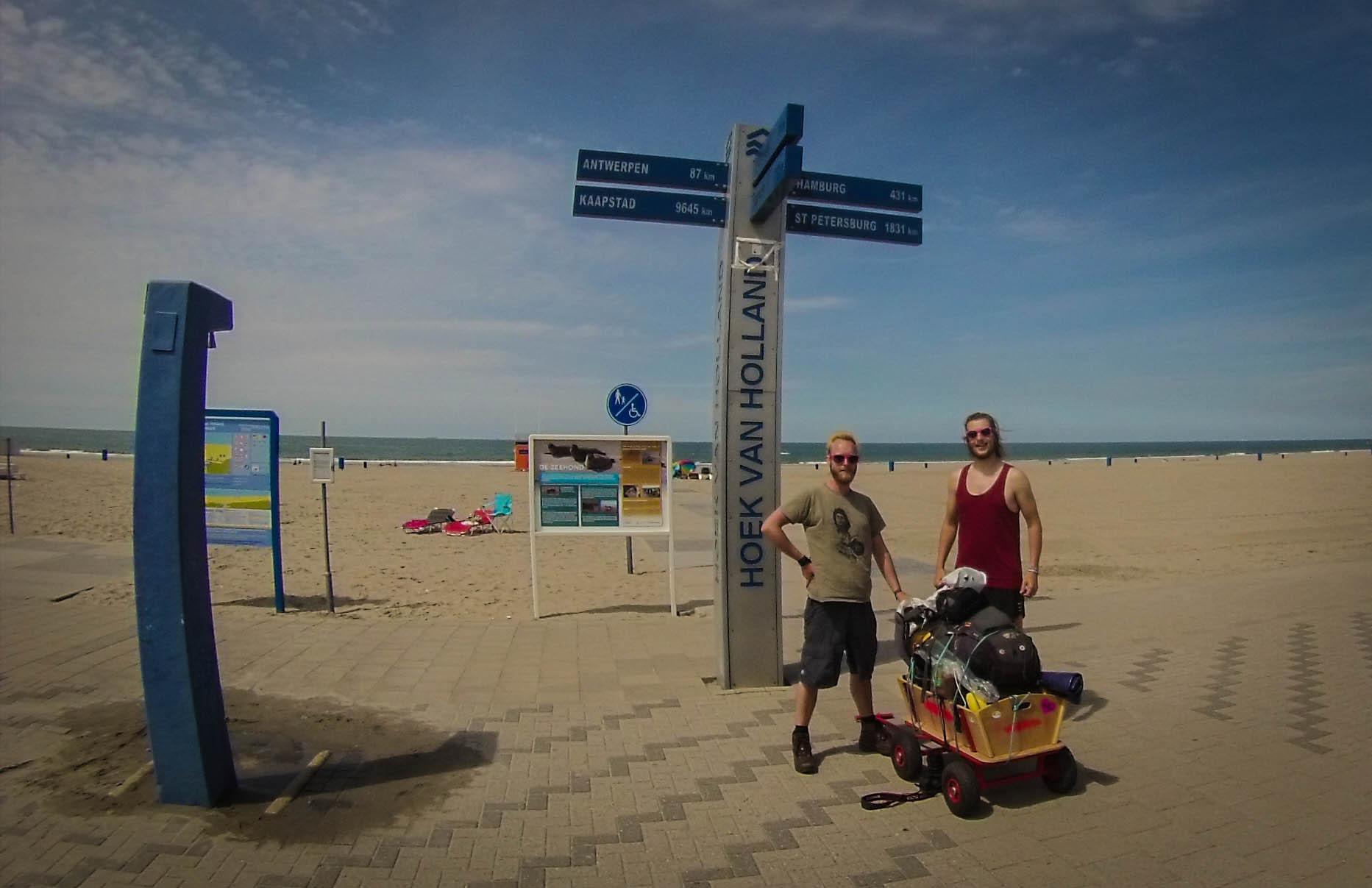 Strand van Hoek van Holland