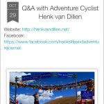 Interview Going Solo Adventures - okt 2015