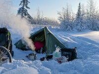 Kit list for adventure cycling in the Arctic Circle in winter